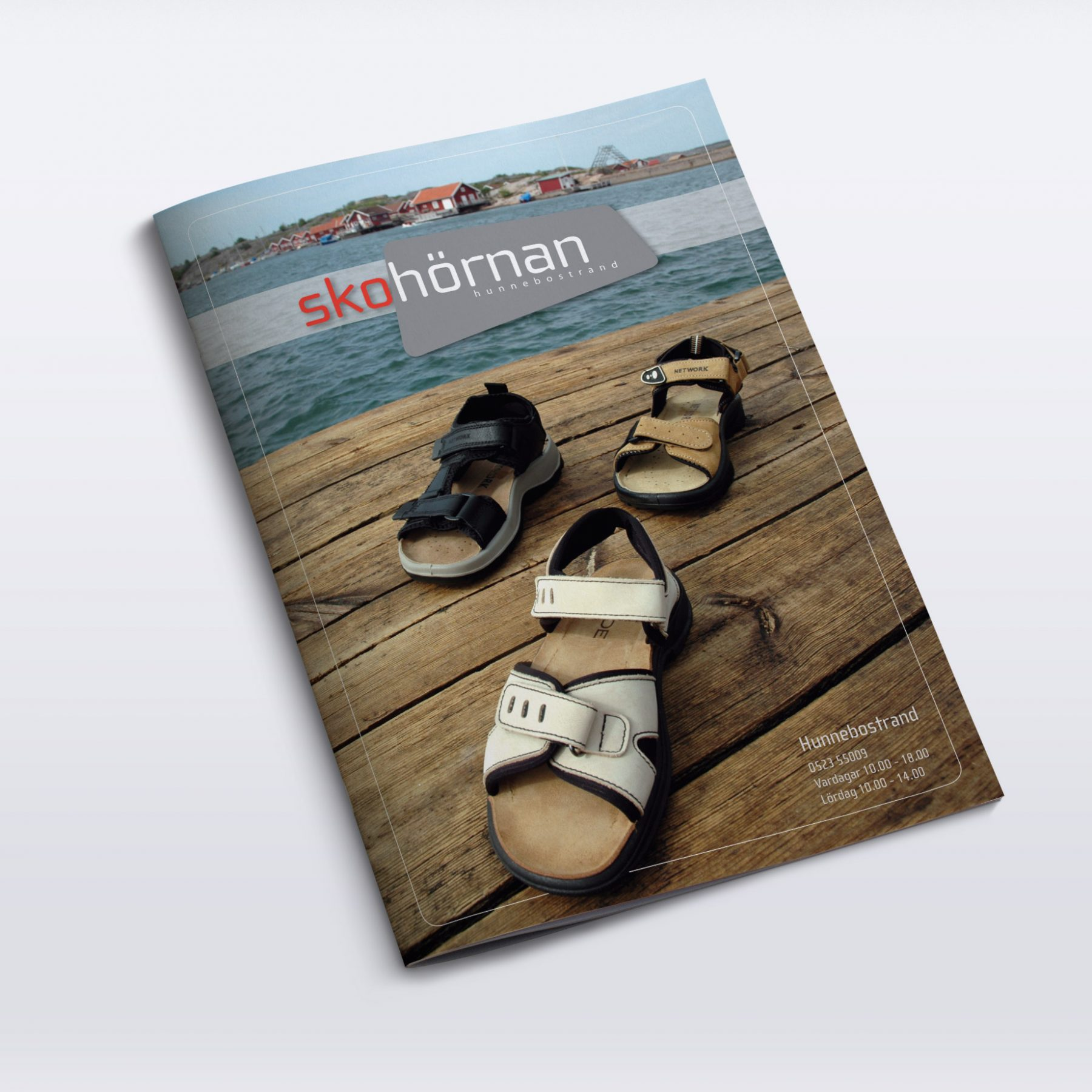 Summer 2005 product catalogue. In addition to design, I also was responsible for photography.