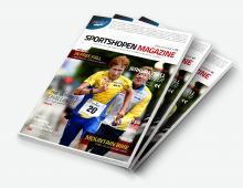 Sportshopen Magazine cover