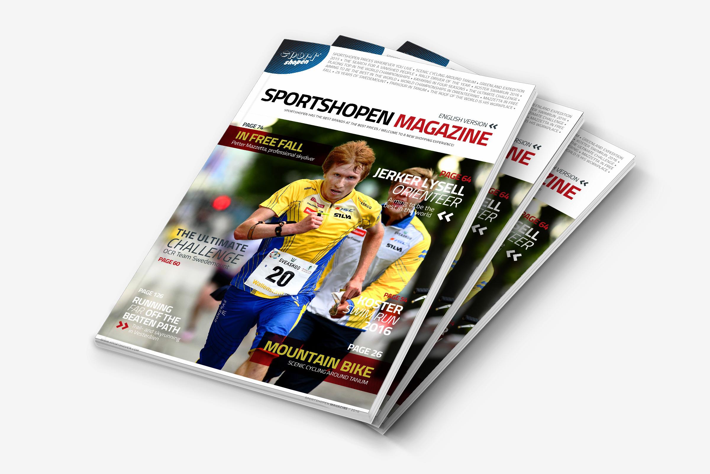 Sportshopen Magazine
